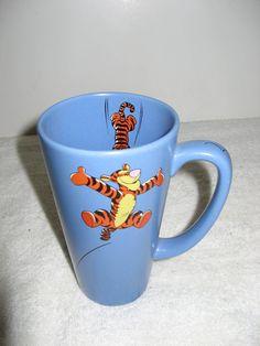 Disney Winnie The Pooh Tigger Coffee Cup Mug Mornings Are