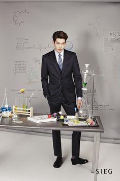Kim Woo Bin - SIEG Korea S/S 2014