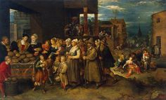 Frans Francken the Younger : The Seven Works of Mercy (Manchester Art Gallery (United Kingdom - Manchester)) フランズ・フランケン・ザ・ヤンガー Manchester Art, Art Gallery, Art Works, Canvas Art Prints, History Painting, Painting, Art, Canvas Art, Art Uk