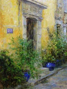 'Doorway in Provence' by Leonard Wren