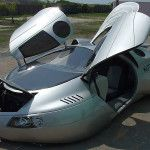 Mike Vetter Extra Terrestrial Vehicle Kit Car opened