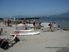 SUP n' Sip is Back!  Come and paddle with us, then enjoy a drink on the best patio in town!  Get #fit #toned and #tanned with us this summer! http://supbootcampvancouver.com/ #windsurewatersports #vancouver #Paddleboard #fitness #personaltrainer
