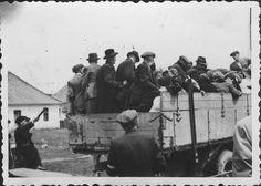 Bratislava, Slovakia, Jews on trucks during deportation. Bratislava Slovakia, Lest We Forget, World History, Wwii, Trucks, World War Ii, Truck, History Of The World