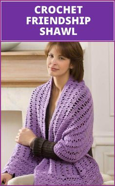 100 Free Crochet Shawl Patterns - Free Crochet Patterns - Page 19 of 19 - DIY & Crafts