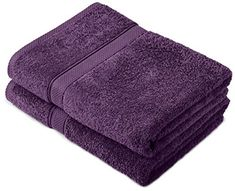 Pinzon by Amazon - Egyptian Cotton Towel Set, 2 Bath Towels - Plum #Pinzon #Amazon #Egyptian #Cotton #Towel #Set, #Bath #Towels #Plum