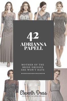 42 Adrianna Papell Dresses she Won't hate
