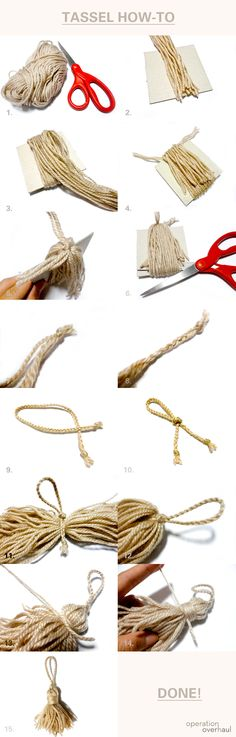 Tassel How-To