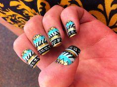 Make own glue on nails #myownnails