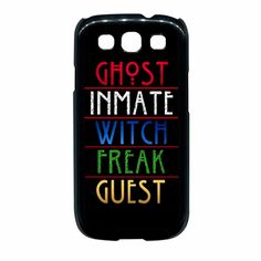 American horror story Samsung Galaxy S3 Case
