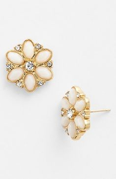 'Floral Fete' Stud Earrings by Nordstrom @Luvocracy |