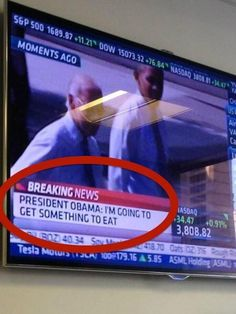 """The person who clearly has no understanding of what """"breaking news"""" actually means. 