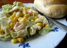 Salát z pekingského zelí recept - TopRecepty.cz Baked Potato, Potato Salad, Salads, Potatoes, Treats, Chicken, Dinner, Baking, Vegetables