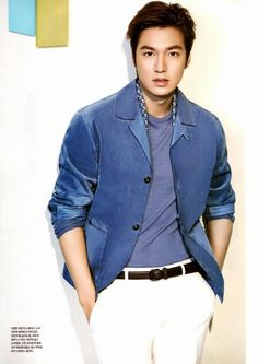 We finally got our Lee Min Ho's HQ interior spreads from the May edition of L'Officiel Hommes. Go here for his cover spread. Meanwhile, his Heirs sibling, Choi Jin Hyuk, also adds his s… Asian Actors, Korean Actors, Asian Boys, Asian Men, Dramas, Korean Male Models, Lee Min Ho Photos, The Great Doctor, Choi Jin Hyuk