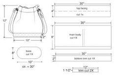 Image result for leather bag patterns