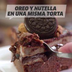 Fun Baking Recipes, Fruit Recipes, Snack Recipes, Dessert Recipes, Cooking Recipes, Snacks, Desserts, Oreo Torta, Nutella Chocolate Chip Cookies
