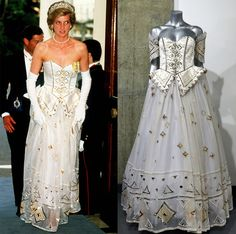 Princess Diana Gown Sells for $140,000 at Auction—See the ...