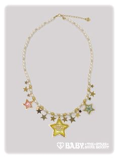 Baby, the stars shine bright Celestial Harmonia twinkle star necklace