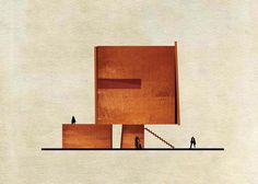 Famous artworks transformed into buildings–Federico Babina
