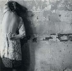 How strange for a photographer to be hiding in front of the camera, the way Francesca Woodman so often does. Who was she, in the end?