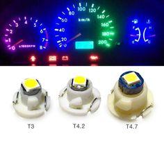 20PCS T3 LED Neo Car Wedge Instrument Dashboard Gauge Cluster Bulb Lights Green