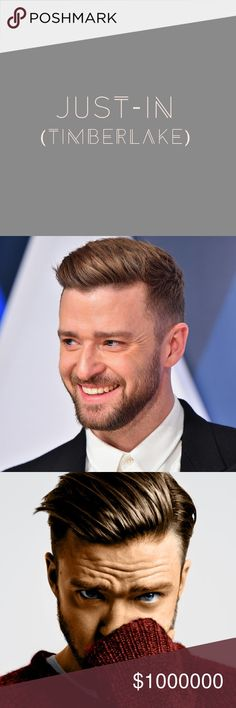 NEW ITEMS HERE!!! Listed after this posting. Like this listing if you would like to be notified of new items in my closet.  This way you will have first dibs!!!  I promise not to go over board on tagging you!  OR just come here to take a break and look at this gorgeous man! 😍 Justin Timberlake Other