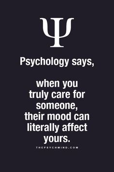 People's moods affect me.. All. The. Time!
