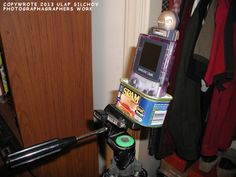 GAMEBOY CAMERA SPAM TRY-POD MOUNTER DEVICES (Game Boy Camera Tripod)