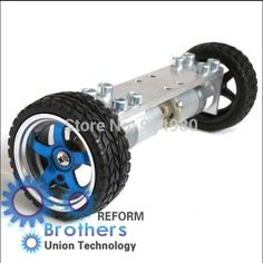39.85$  Buy now - http://alihpn.shopchina.info/1/go.php?t=849865511 - 2 wheel drive car chassis dc gear motor turn 6 v150 wheels 65 mm is convenient to assemble and extend toy robots Toy cars  #buyonline