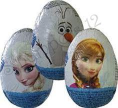 Disney's Frozen Chocolate Surprise Eggs (Pack of