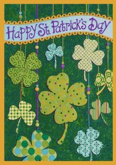 1000 images about st patrick day garden flag on for Custom decor inc