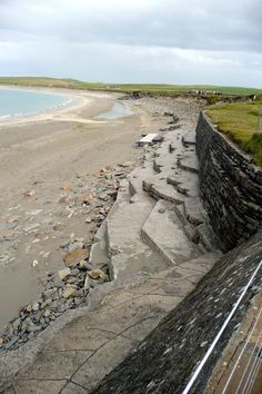 ORKNEY ISLANDS - SKARA BRAE BY BEACH HIDDEN 5,000 YEARS BY SAND  Oh goodness.................