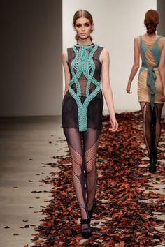 Bora Aksu Spring Summer 2012 London Fashion Week
