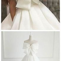 Cute White Big Bowknot Prom Dress,Strapless Evening Dress,Satin simple a-line Party Dress sold by shuiruyandresses. Shop more products from shuiruyandresses on Storenvy, the home of independent small businesses all over the world. Strapless Prom Dresses, Lace Evening Dresses, Wedding Dresses, Off Shoulder Wedding Dress, Indie Brands, Perfect Fit, Party Dress, Satin, Things To Sell