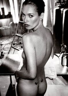 Kate Moss photographed by Mario Testino ...