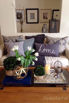2 Ladies Spring Home Tour: Joan's Home
