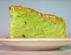 blast from the past pistachio cake (the pudding mix kind) from dessertgirl.blogspot.com...yum!