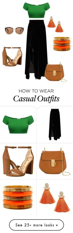 """Casual date"" by ranjali on Polyvore featuring Roland Mouret, Chloé, Miss Selfridge, Sam Edelman and Marni"