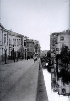 Via Senato e il ponte di Via Sant'Andrea