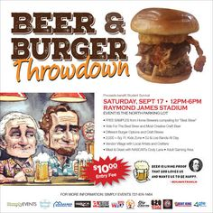 Enter to win Beer & Burger Throw Down tickets!