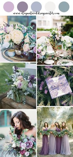 shades of purples organic spring and summer wedding colors wedding palette 10 Beautiful Spring and Summer Wedding Colors for 2019 May Wedding Colors, Wedding Color Schemes, Purple Summer Wedding, Burgundy Wedding, February Wedding Colors, Wedding Theme Purple, Wedding Colors For Spring, Summer Wedding Inspiration, Spring Wedding Dresses