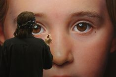 Gottfried Helnwein is an international artist in his early 60s, whose work is now housed in such prestigious collections as the Smithsonian Institute in Washington, the Ludwig Museum in Cologne, the Fine Arts Museum of San Francisco, the State Russian Museum in St. Petersburg and the Chinese Museum of Art in Beijing. Personal clients include the major American collector Kent Logan and the actor Arnold Schwarzenegger.