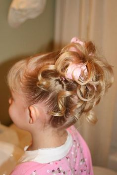 hairstyle for adrianna isabella! <3