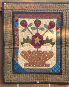 basket quilt block design | Joined at the Hip - Folk Art Quilt Designs and Original Patterns