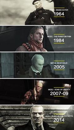 Ocelot through the years