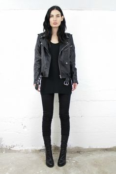 DEADWOOD LEATHER UNISEX RECYCLED JACKET – Sisters Of The Black Moon