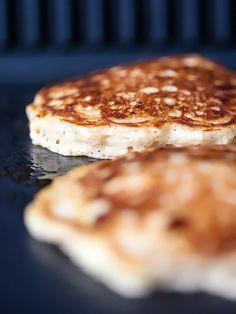 The Best Banana Bread Pancakes