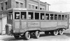 Goodyear Bus that would pick up employees to bring to work