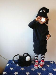 おはようございます クゥオティパーカーワンピ、基本の黒★ に、Birthdayで見つけたまっくろ