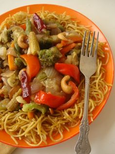 A light vegetarian stir fry dish that is flavorful, colorful, substantial and healthy. Serve the stir fried vegetables over a bed of fried noodles or steamed rice and enjoy the symphony of flavors and textures. Not to mention, your family get to eat their 5 a day portion of vegetables in a single meal.
