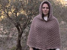 Crochet Poncho con Capucha - Video Tutorial & Pattern  (Español/English) <3 <3